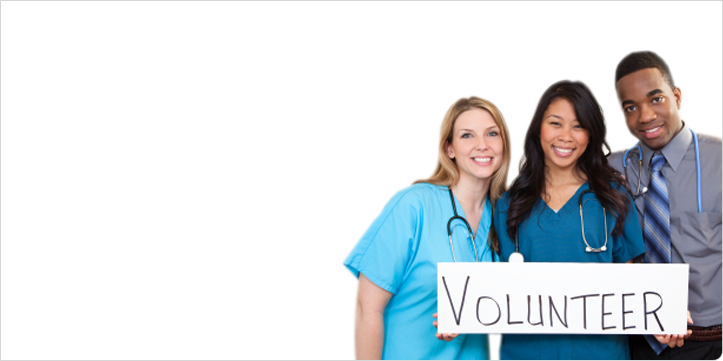 how to become a volunteer at a hospital