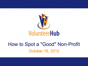How to Spot a Good Nonprofit Thumbnail
