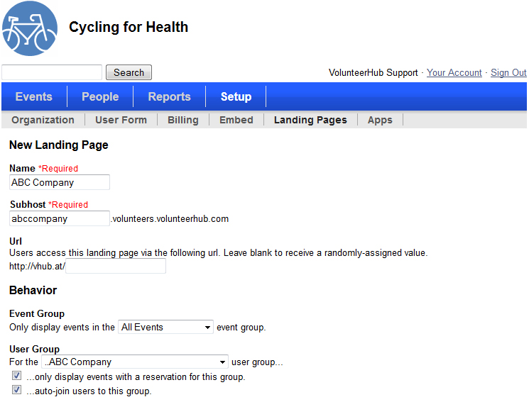 how to create a login with page custom for user