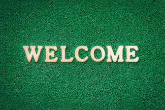 volunteer welcome