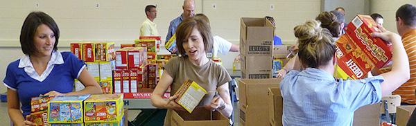 Food Bank Southern Tier Volunteers