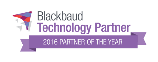Blackbauds 2016 Technology Partner of the Year
