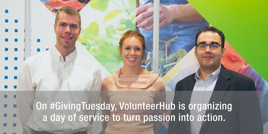 VolunteerHub #GivingTuesday