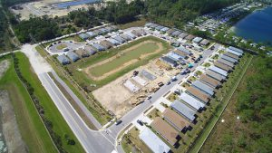 Ariel view of Habitat for Humanity Project