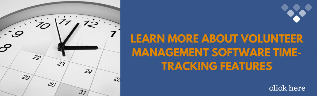 Best Volunteer Management Software - Time Tracking