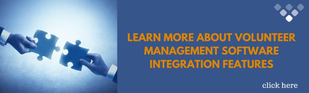 Best Volunteer Management Software - integration features