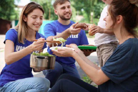 food bank volunteer management