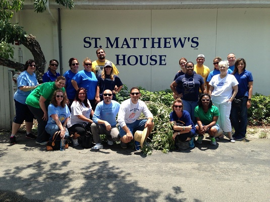 St. Matthews House Volunteers