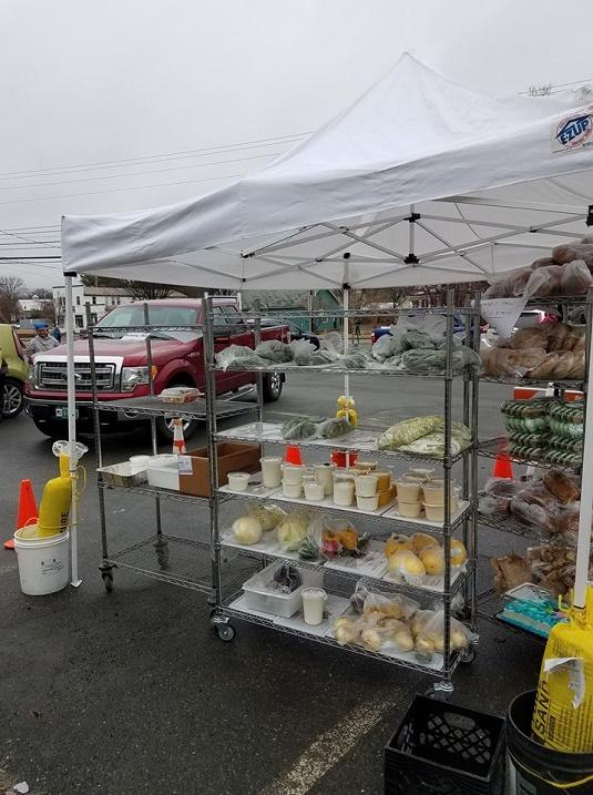 Upper Valley Haven - Food Tent