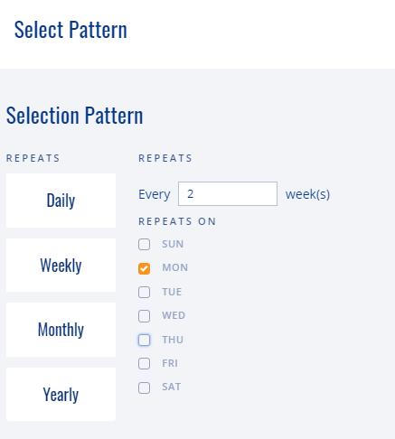 Multi Event Editor Pattern Select