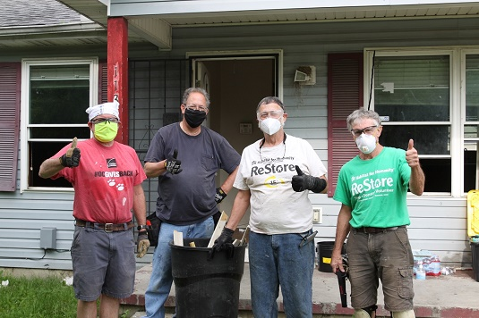 Habitat for Humanity Maumee Valley Volunteers